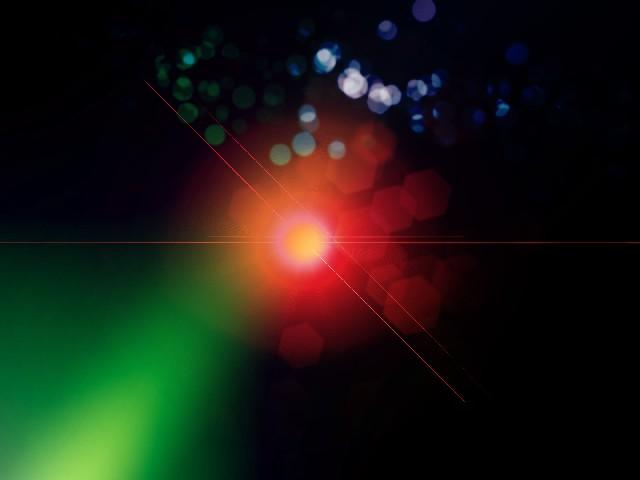 光のテクスチャ 赤と緑の光_1